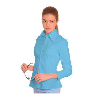 Ladies-Shirt-for-Work-Auriga-Blue-1