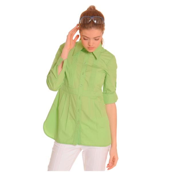 Ladies-Shirt-for-Work-Lacerta-Green-1