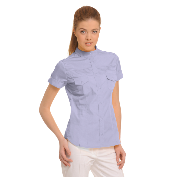 Ladies-Shirt-for-Work-Tucana-Lilac
