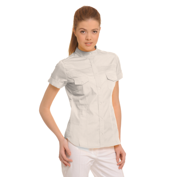 Ladies-Shirt-for-Work-Tucana-Stone