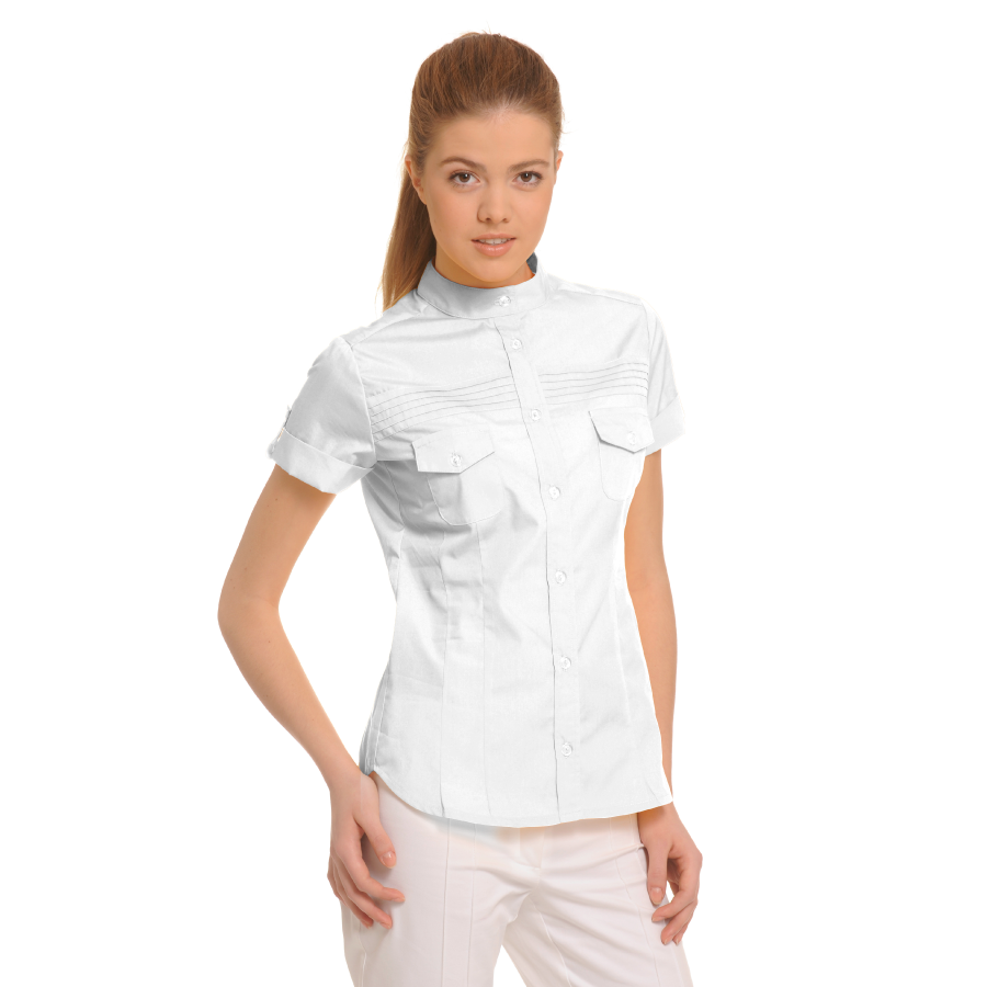 Ladies-Shirt-for-Work-Tucana-White
