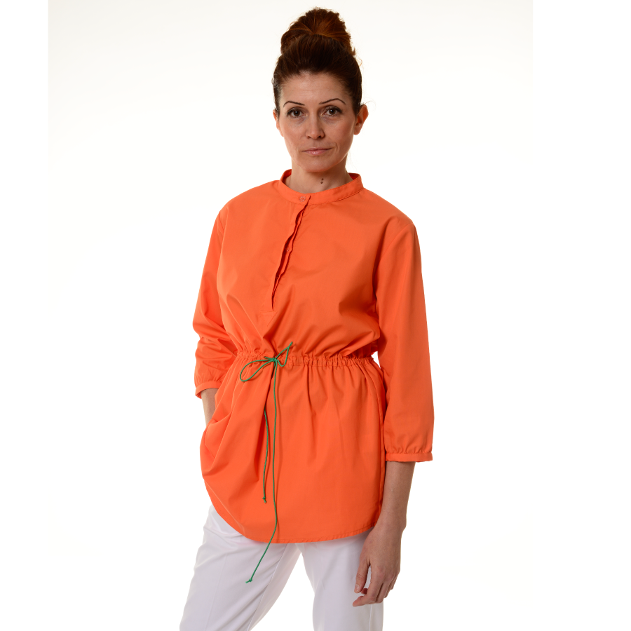 Ladies-Tunics-for-Work-Andromeda-Orange