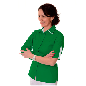 Ladies-Work-Shirt-Onda-Green-1