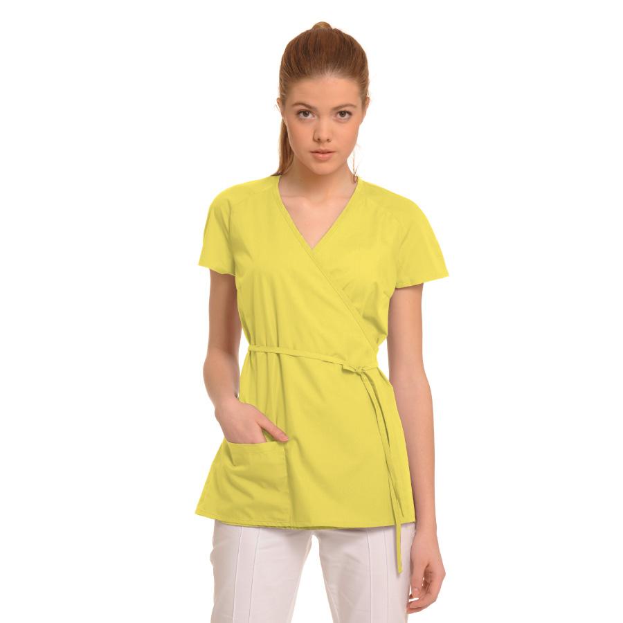 Medical-Tunic-Ara-Yellow
