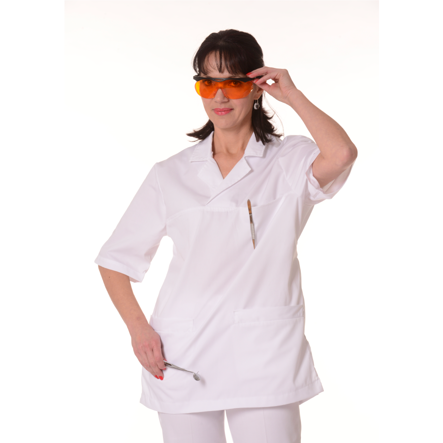 Medical-Tunic-Dorado-Women-White