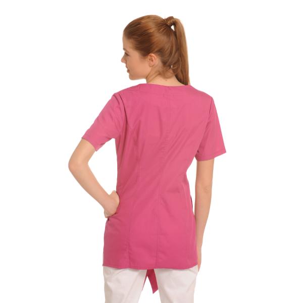 Medical-Tunic-Lira-Pink-Back