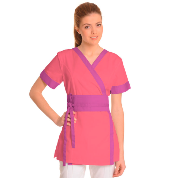Medical-Workwear-Tunics-Vela-Coral-Purple