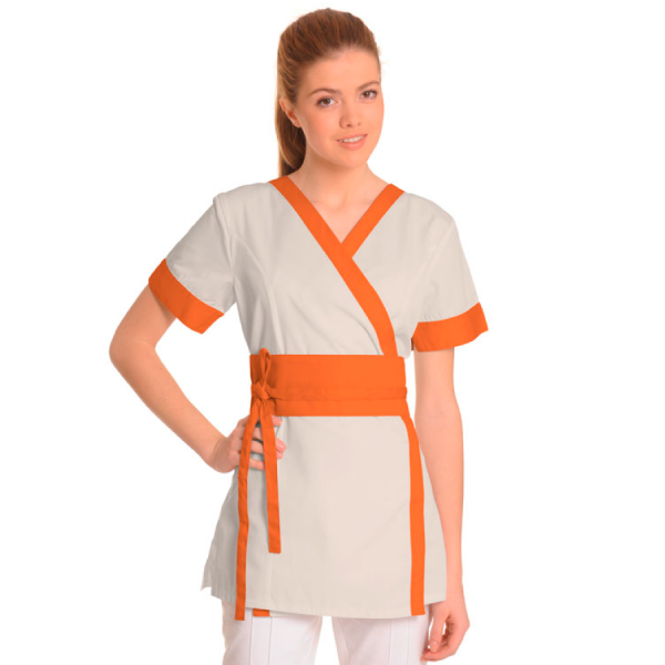 Medical-Workwear-Tunics-Vela-Orange
