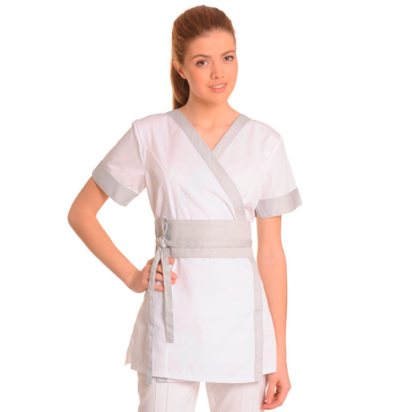 Medical-Workwear-Tunics-Vela-White