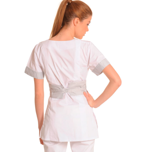 Medical-Workwear-Tunics-Vela-White-Back