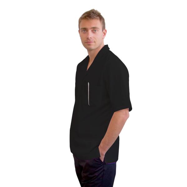 Work-Tunics-for-men-Dorado-black