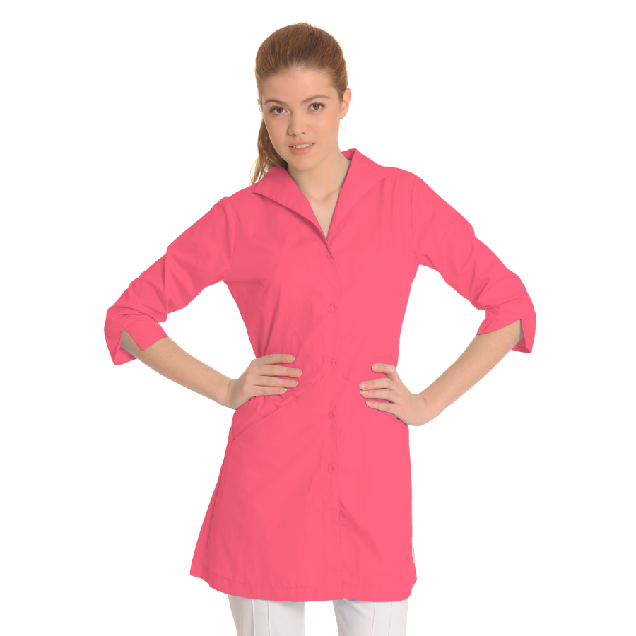 Lab-Coat-for-Women-Hydra-Coral