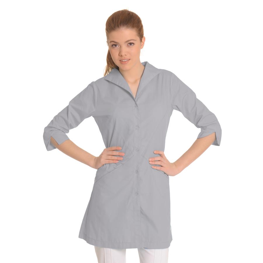 Lab-Coat-for-Women-Hydra-Grey