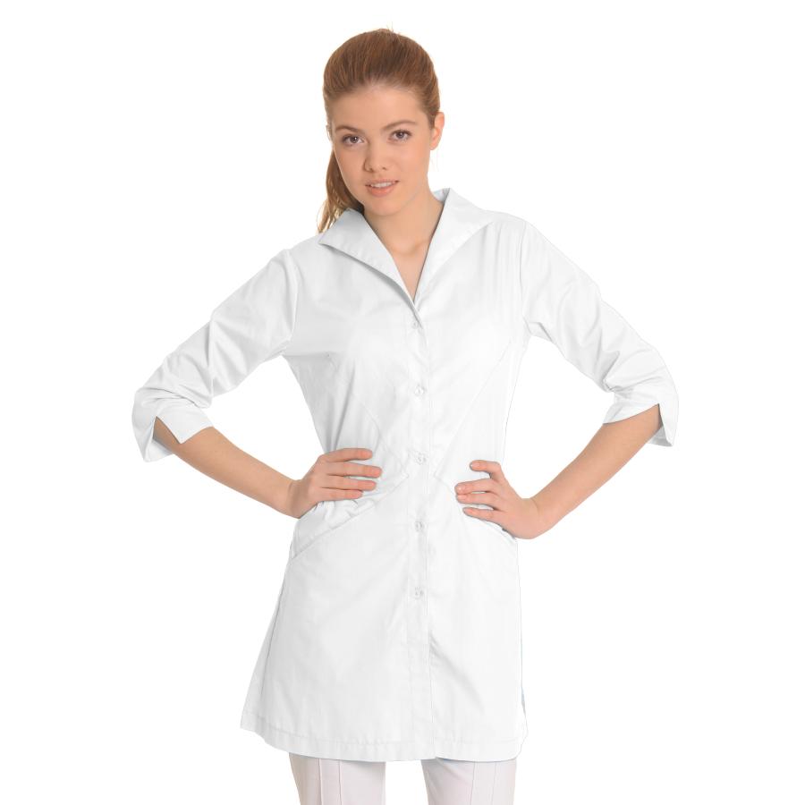 Lab-Coat-for-Women-Hydra-White
