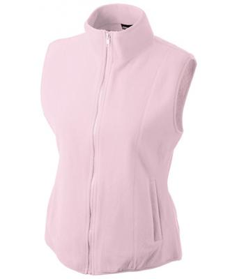 Ladies-Fleece-Gilet-JN048-light-pink-1