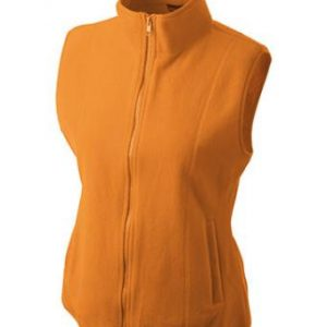 Ladies-Fleece-Gilet-JN048-orange-1