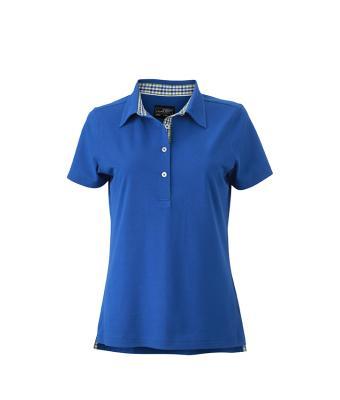 Ladies-Polo-Shirt-RoyalBlue-Green-White-T-Shirt-JN-969-1