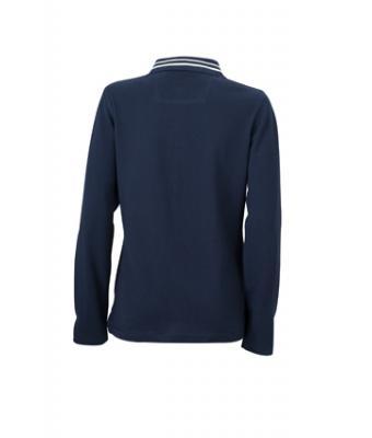 Longsleeve-Polo-Shirt-Navy-JN-967-2