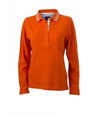 Longsleeve-Polo-Shirt-dark-orange-JN-967-1