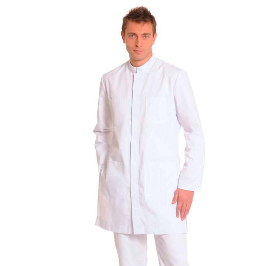 Men's-White-Coat-INDUS-White