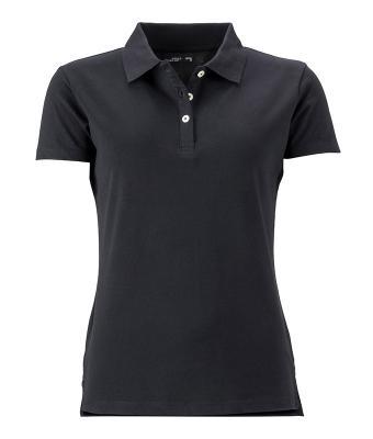 Women-Polo-Shirt-Black-T-Shirt-JN-356-1
