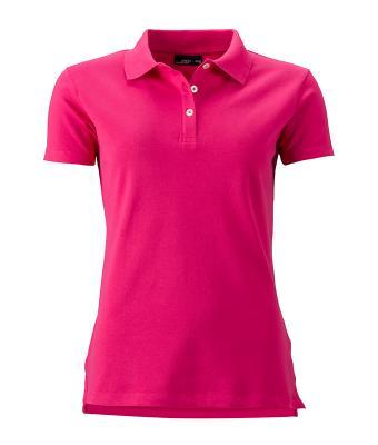 Women-Polo-Shirt-Pink-T-Shirt-JN-356-1