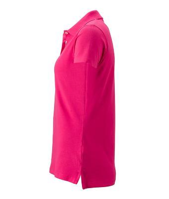 Women-Polo-Shirt-Pink-T-Shirt-JN-356-3