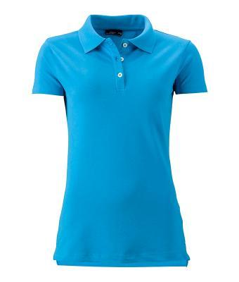 Women-Polo-Shirt-Turquoise-T-Shirt-JN-356-1