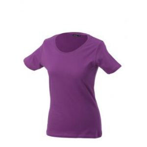 Women-t-shirt-Purple-T-Shirt-JN-901-1