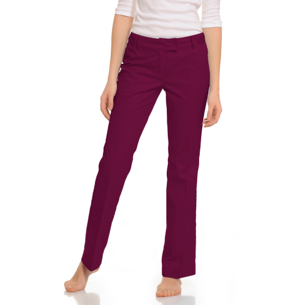 Womens-Medical-trousers-Sagitta-Red