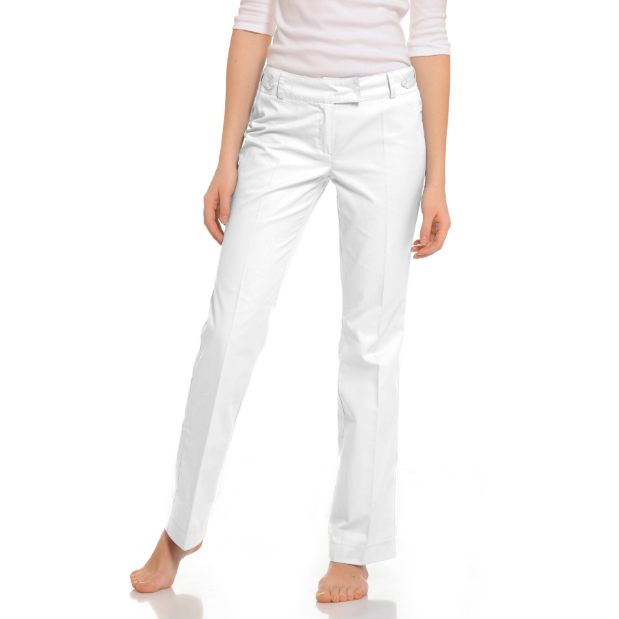 Womens-Medical-trousers-Sagitta-White