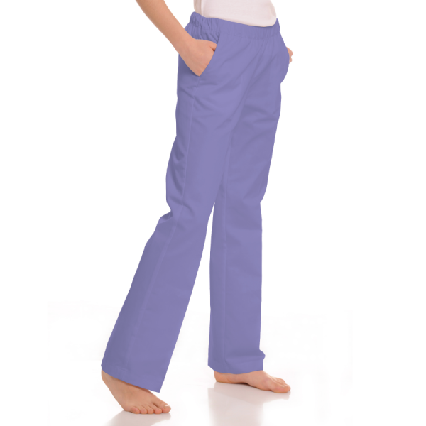 Womens-Medical-trousers-with-pockets-Pavo-Lilac