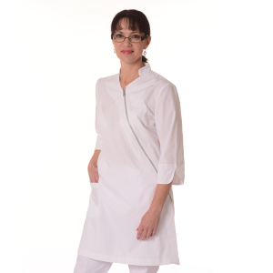 Womens-White-Coat-Musca-White