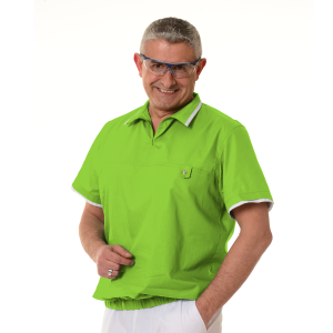 Medical-Tunics-for-men-Crater-Lime-green