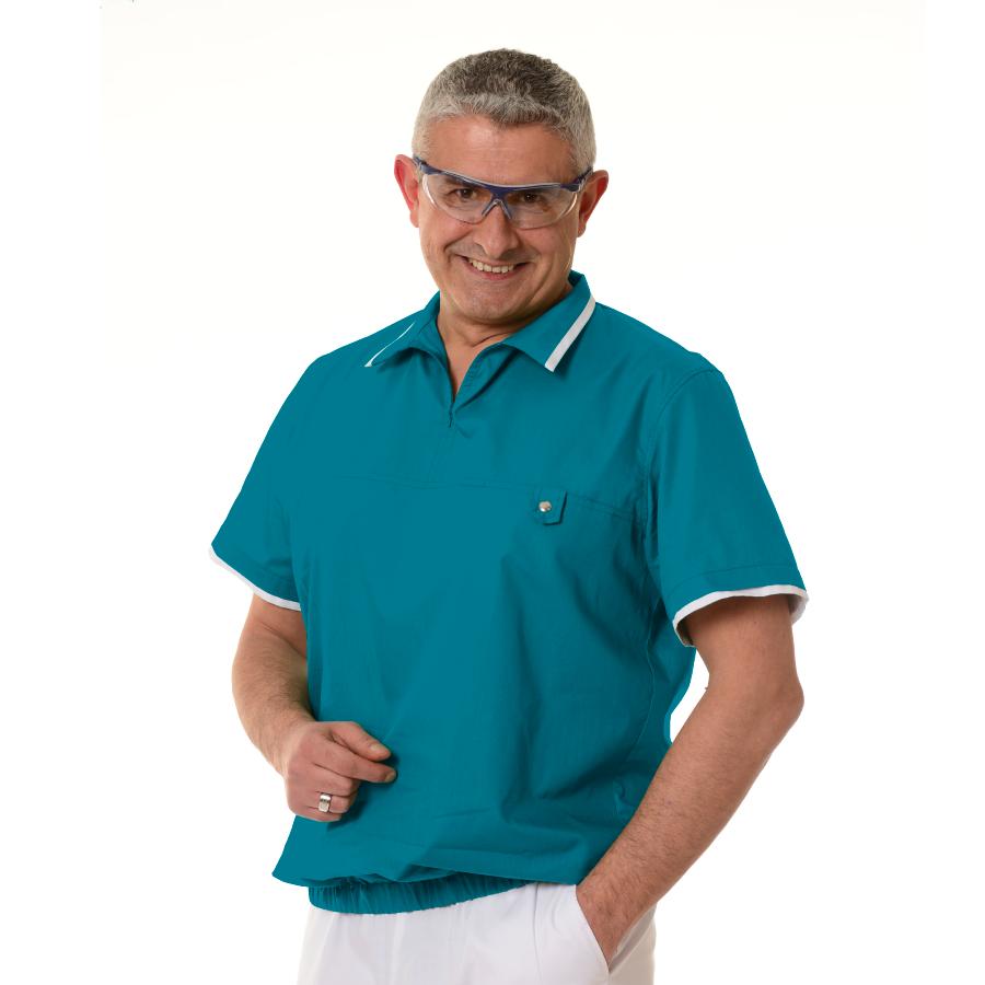 Medical-Tunics-for-men-Crater-Petrol