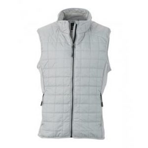 Men's Sleeveless Jacket-JN1114-silver