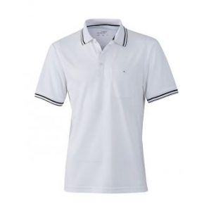 Polo-shirt-white-black-JN702