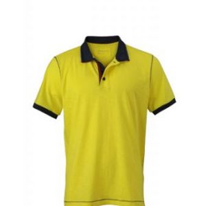 Polo-shirt-yellow-navy-JN980