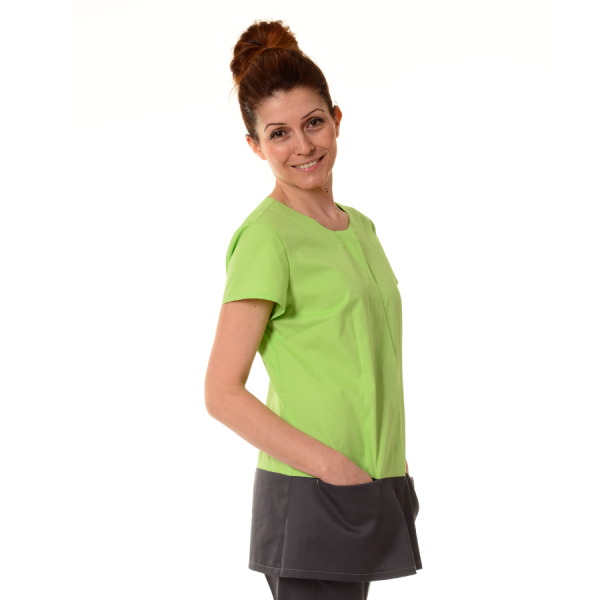Womens-Tunics-for-Work-Columba-Green