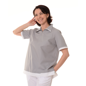 Womens-Tunics-for-Work-Puppis-Grey